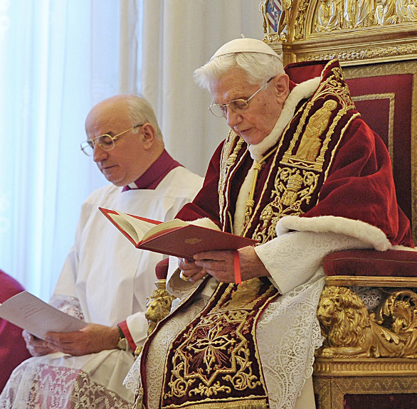 Literal English Translation of Benedict XVI's Discourse on Feb. 11, 2013 A. D.