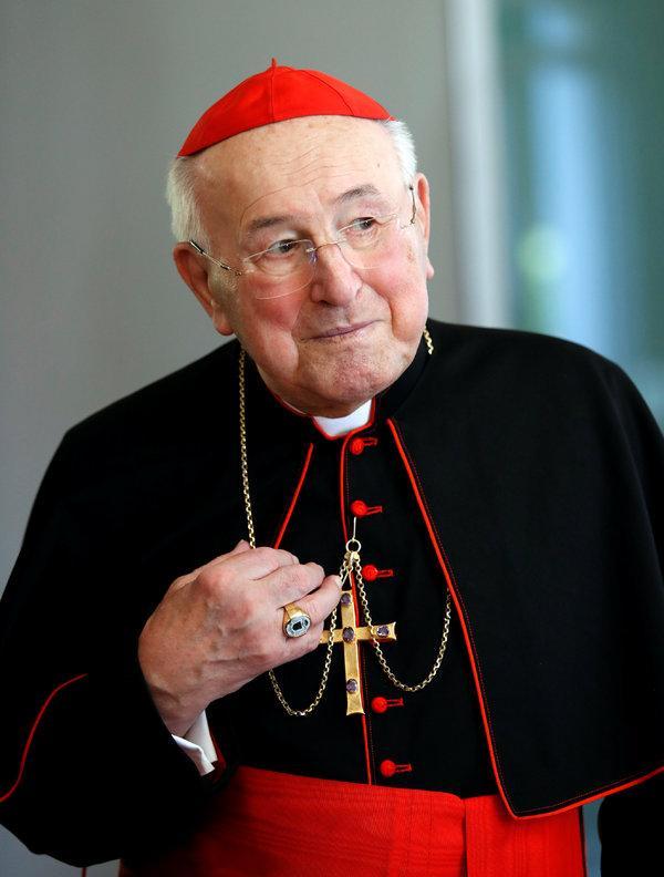 Has Cardinal Brandmüller ever read Canon 332 §2?