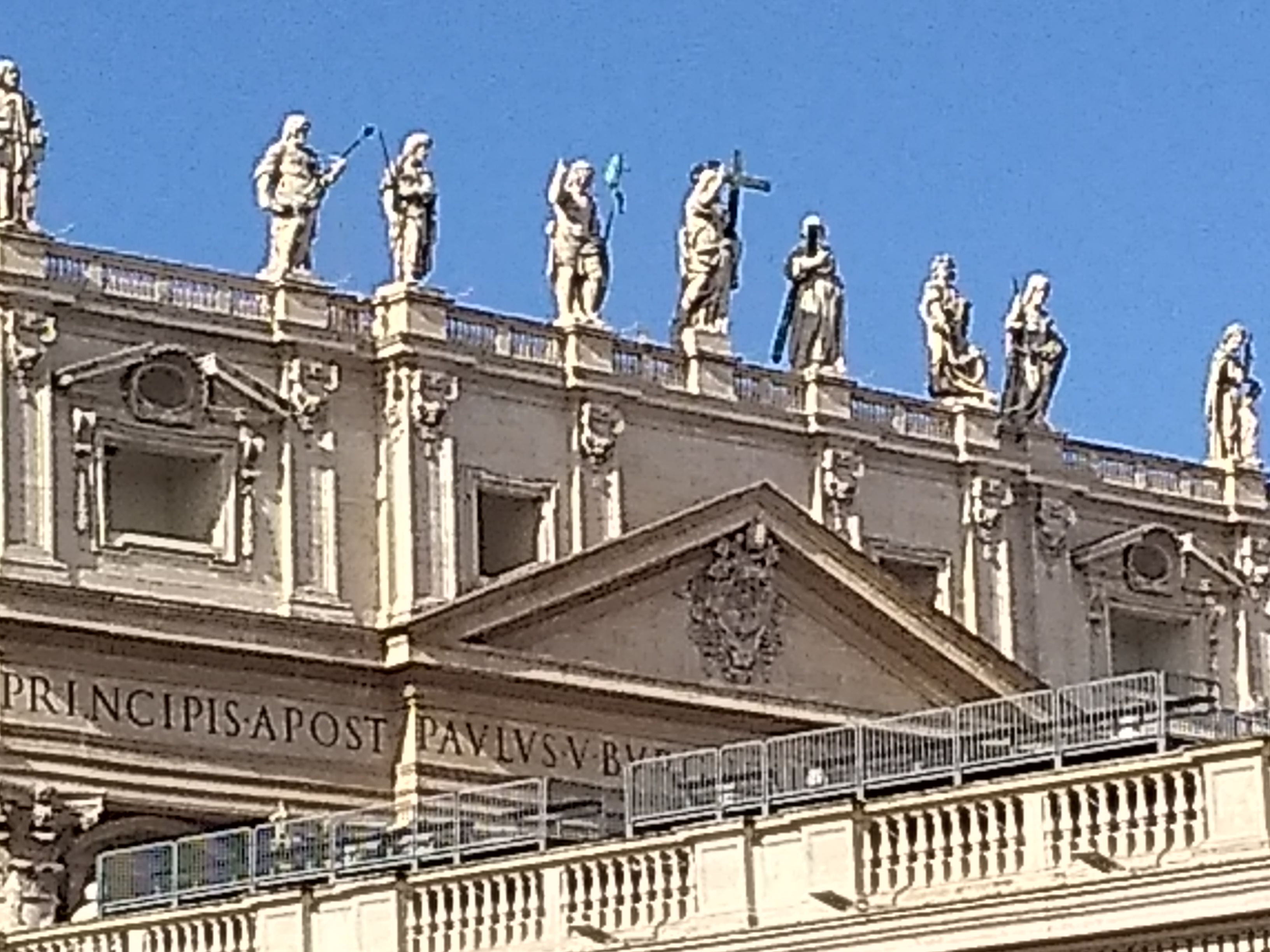 From Rome Blog: Saint Peter's Square, Nov 13, 2019 at 11 AM.