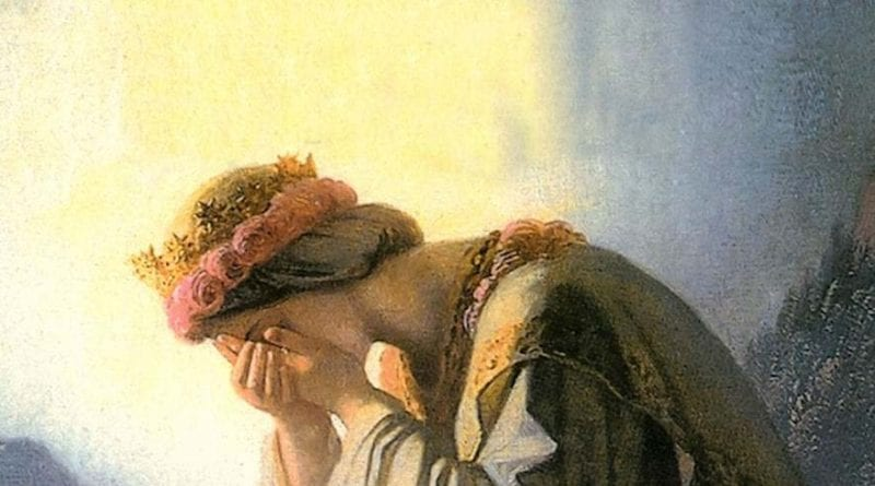 In Her tears, the Church can find salvation from the Apostasy