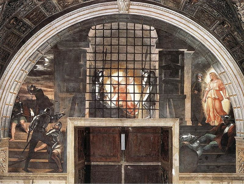 May the Lord send an Angel of Deliverance to free Pope Benedict from prison!