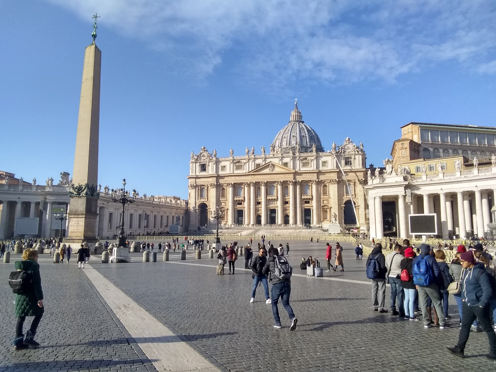 Grex Vocum: Tomorrow, Feb 11 – Piazza San Pietro, Vatican