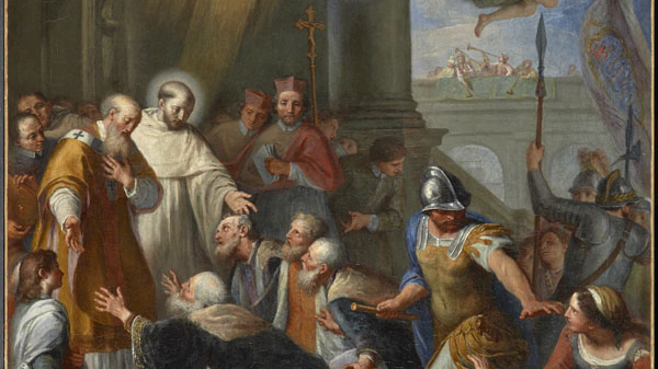 St. Bernard of Clairvaux, patron and model for those who fight against Antipopes