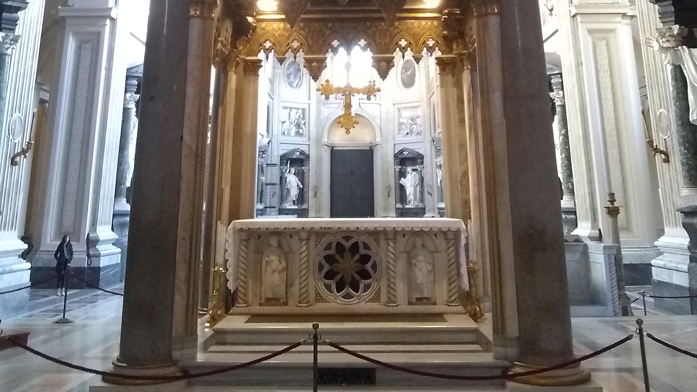 There are 4 priests at Rome who name Benedict in the Canon