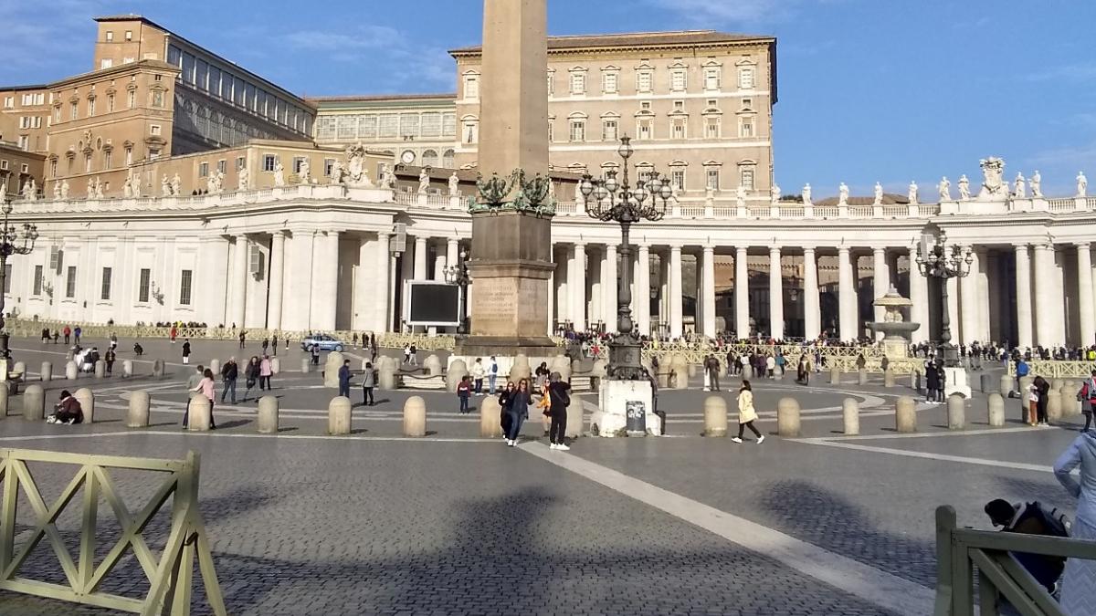Grex Vocum — Piazza San Pietro, Feb. 11