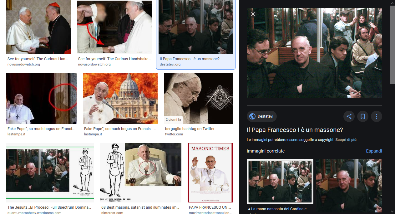Letter to the Editor: Bergoglio is a Freemason!