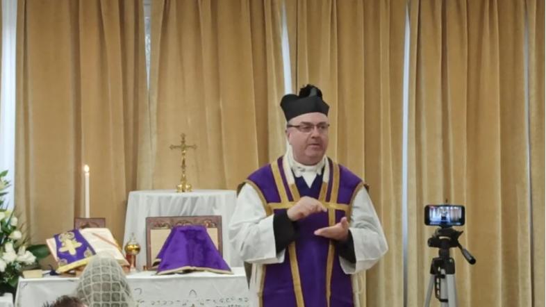 Quinquagesima Sunday: Mass una cum Papa Benedicto