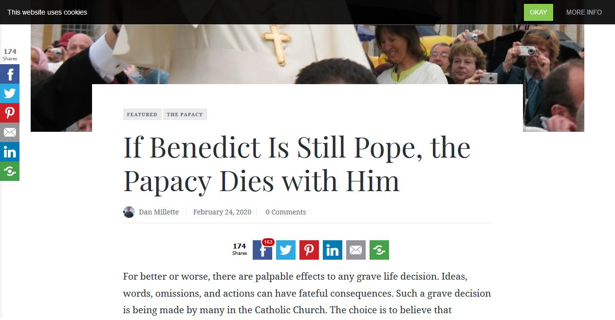 How Bergoglians blaspheme