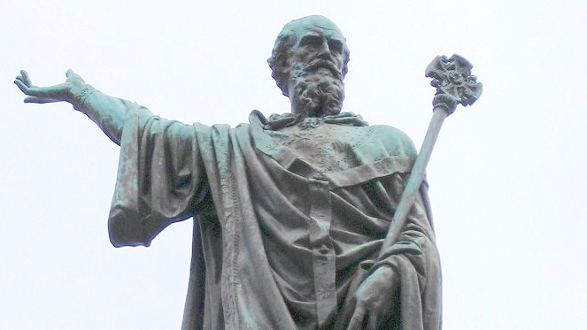 Bl. Urban II, patron of Popes who courageously oppose Anti-popes