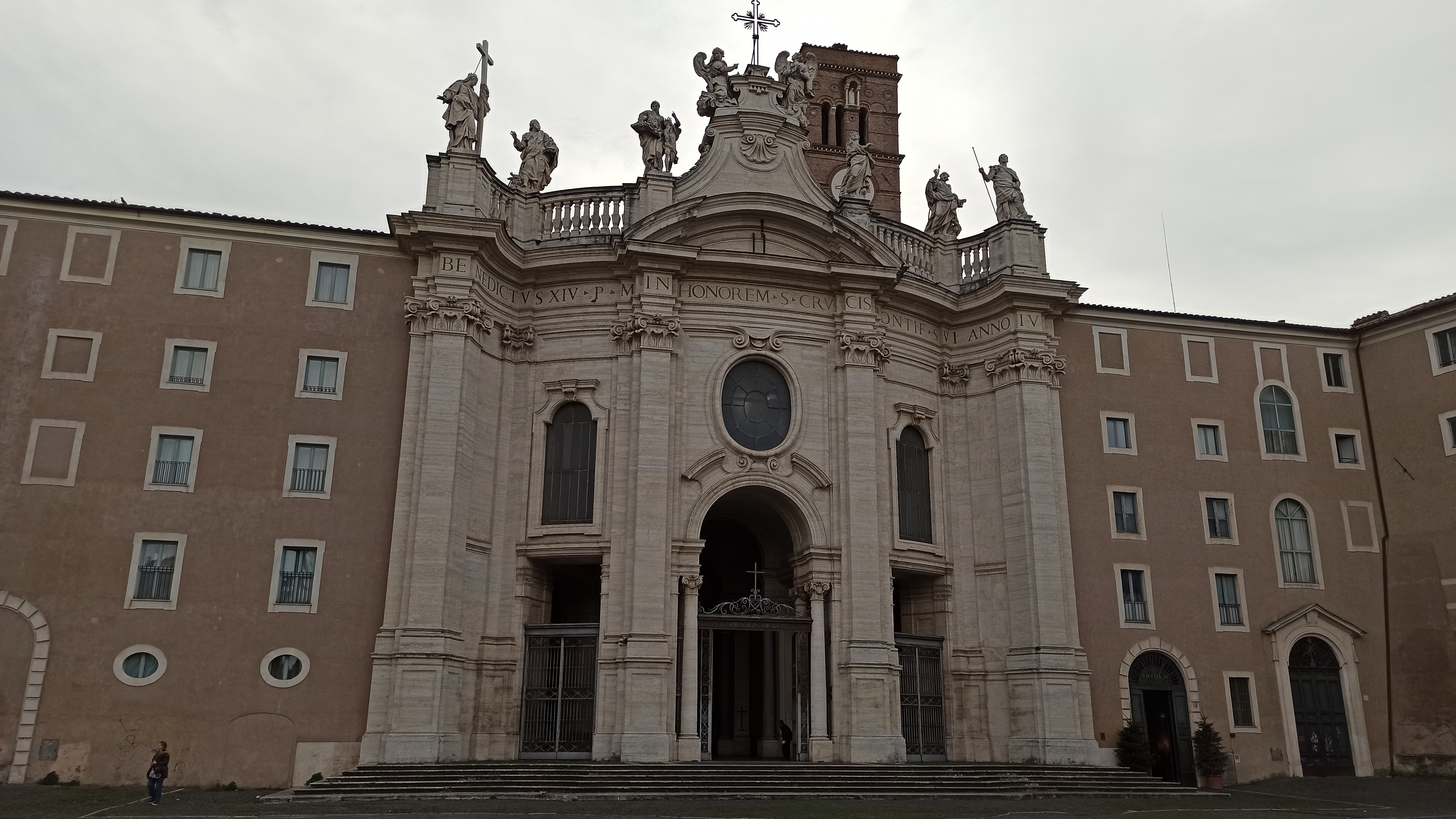 A Pilgrim's Visit to the Basilica of the Holy Cross in Jerusalem at Rome