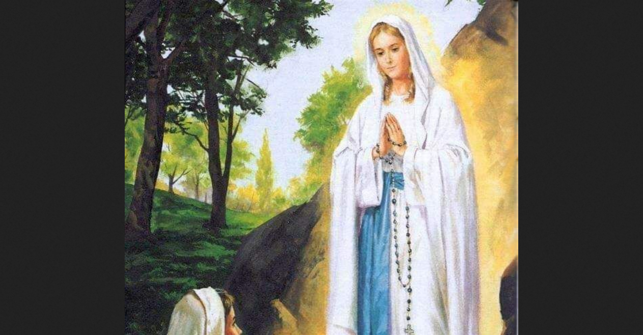 Our Lady of Lourdes, pray for Italy!