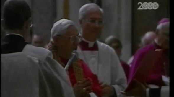 Pope Benedict XVI & Santa Maria Maggiore