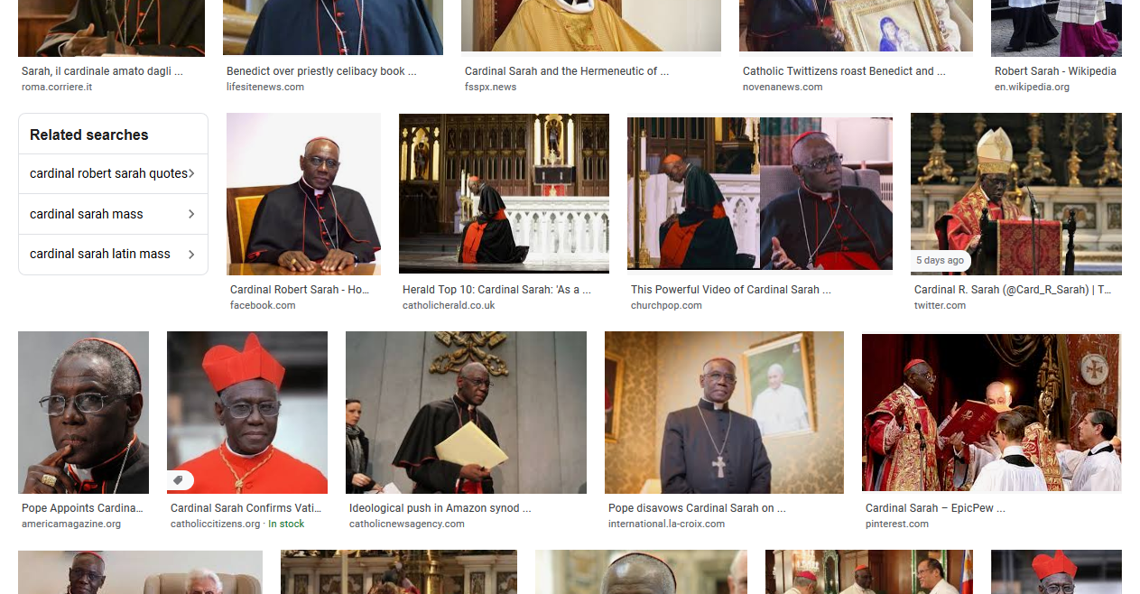 Cardinal Sarah decrees Easter is to be celebrated without the Faithful