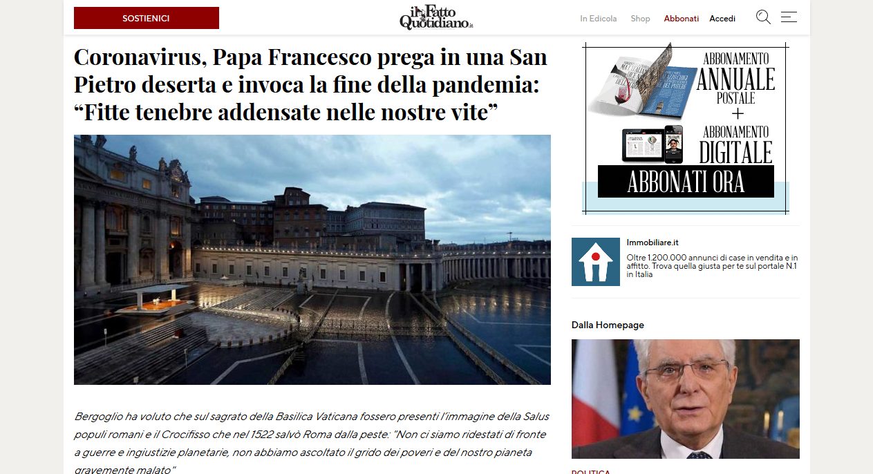 Anti-pope greeted by hordes of adoring followers
