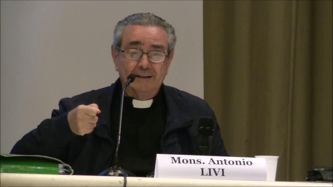 Mons. Antonio Livi, famous Roman theologian, R.I.P.