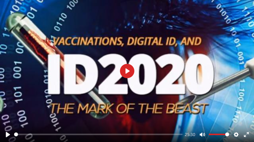 From the sin of David to the Mark of the Beast: Why ID2020 is an abomination