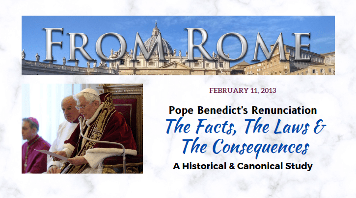Pope Benedict's Renunciation: The Documentary — Part 7