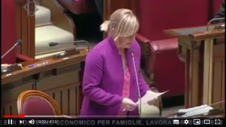 MP Sara Cunial: Italy has been subjected to a Holy Inquisition of False Science