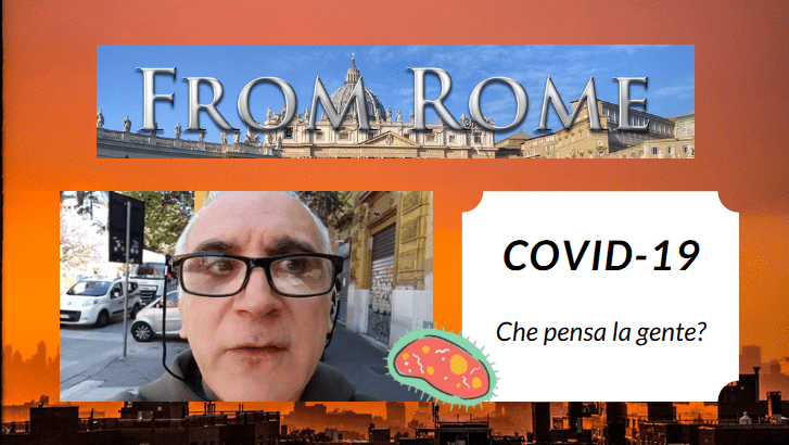 COVID-19: Che pensa la gente?