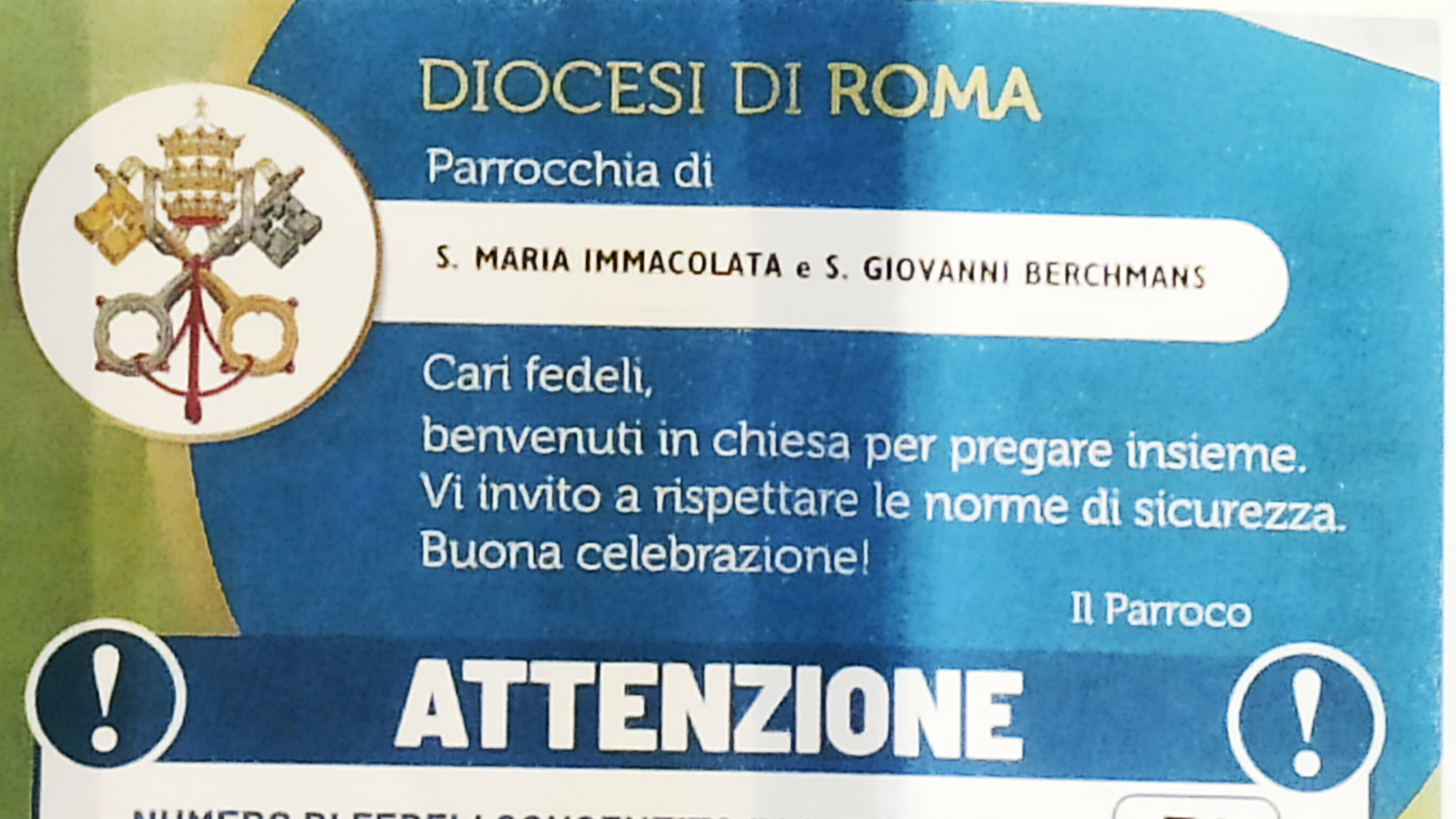 Anti-Church of Rome: Catholics forbidden to attend the Virus Mass