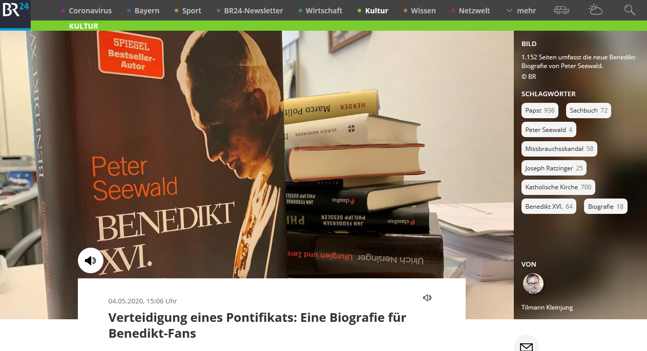 Seewald's new book on Pope Benedict XVI confirms his renunciation was invalid