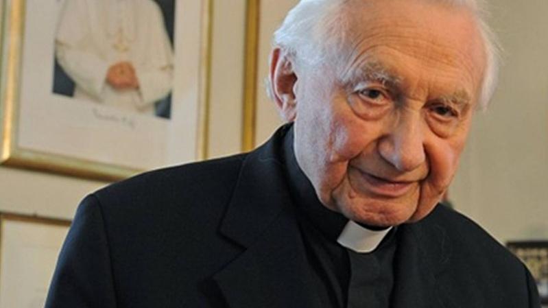 Msgr. Georg Ratzinger, R.I.P….