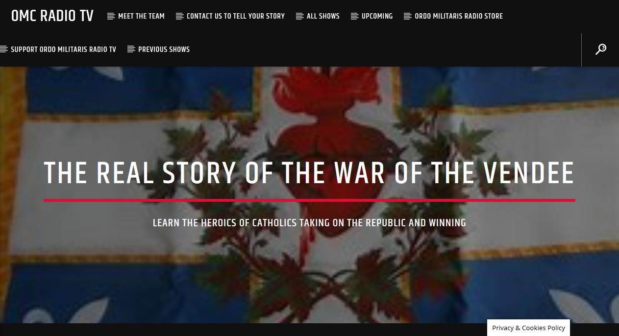 OMC Radio TV — The Catholic Rising of the Vendée