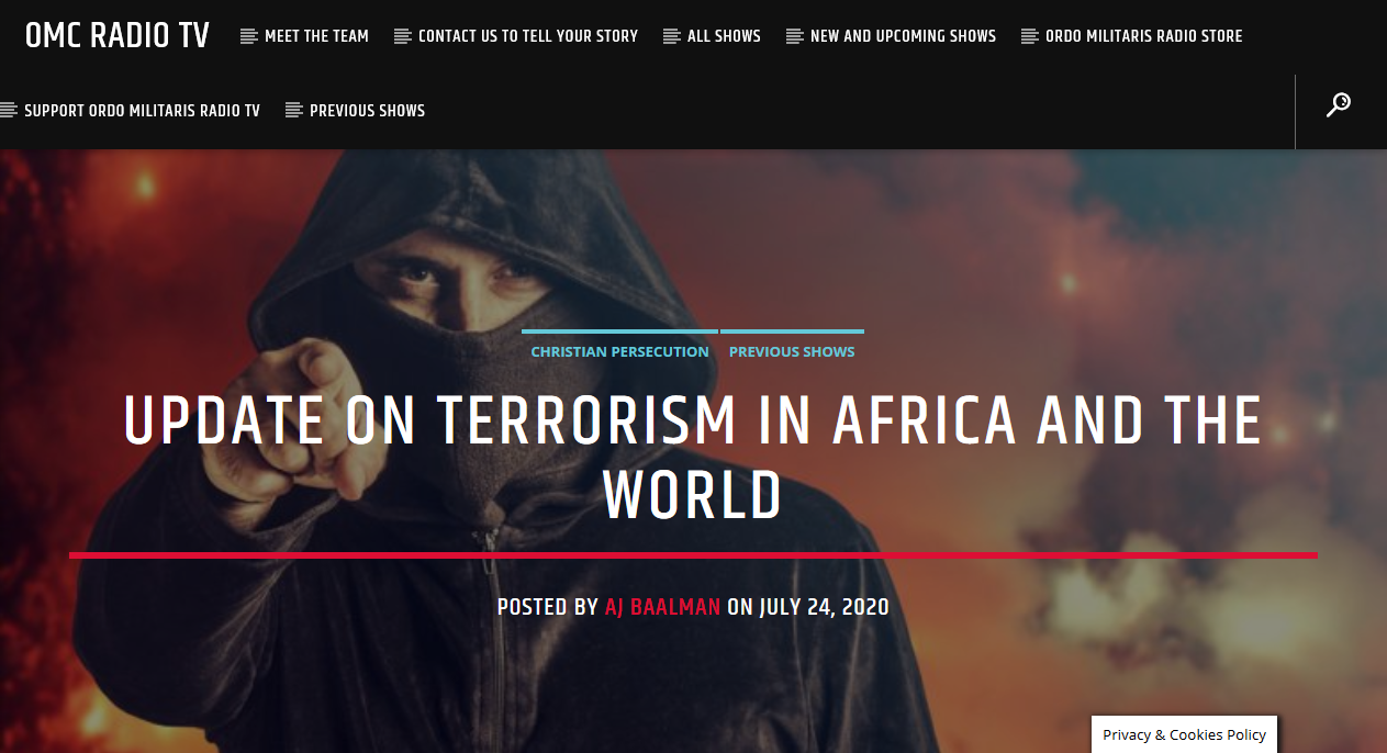 Terrorism: A Week in Review, from Nantes to Mozambique