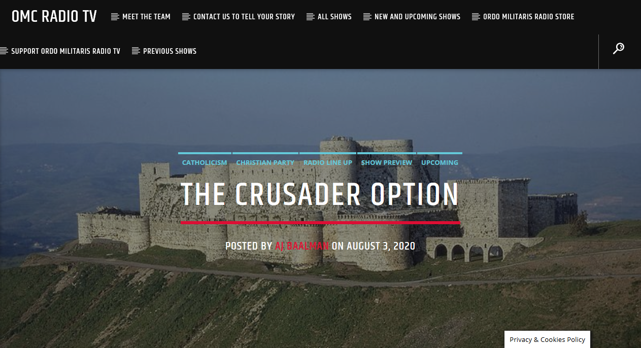 A Briefing for Select Investors: The Crusader Option