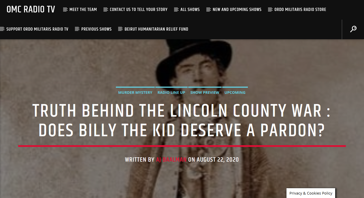 Billy the Kid: Catholic outlaw or hero of the Wild West?