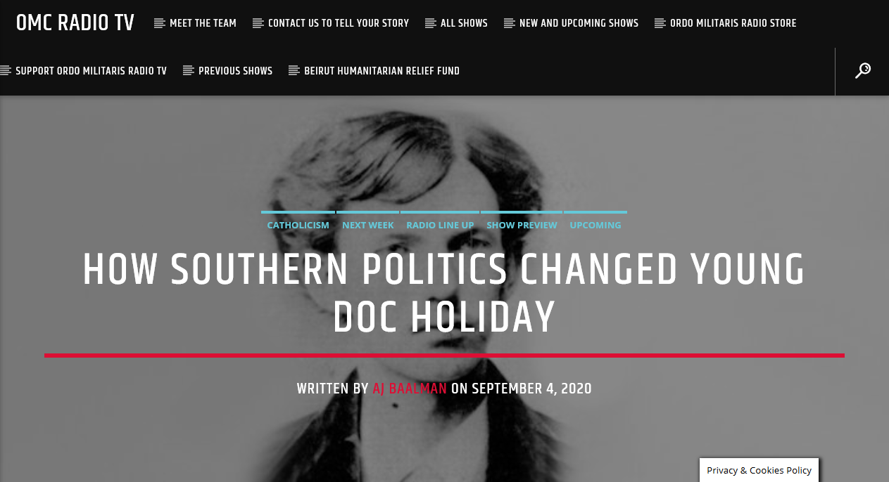 Doc Holiday: Family origins and youth