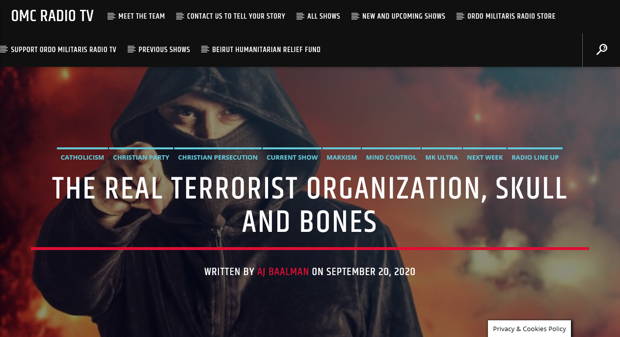 The Lodge of Terror: Skull & Bones