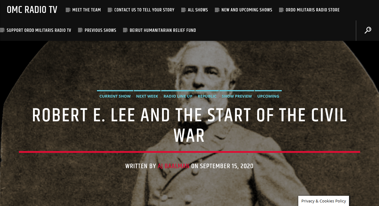 The Life of Robert E. Lee: Part II