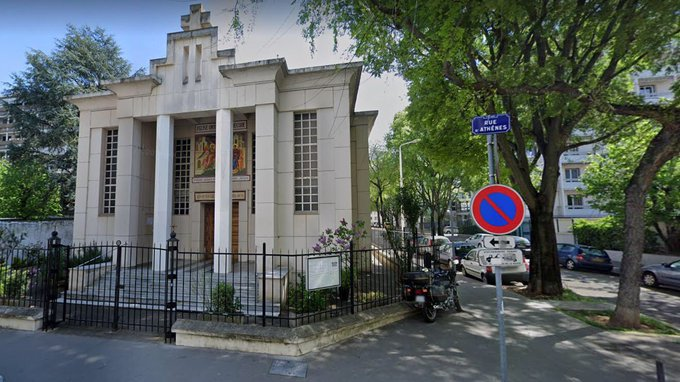 Greek Priest shotgunned at Lyon, France, now between life and death