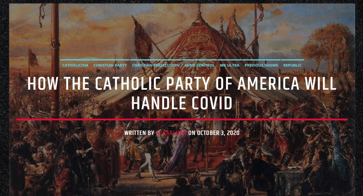 The Solemn Duty of a Christian in Politics