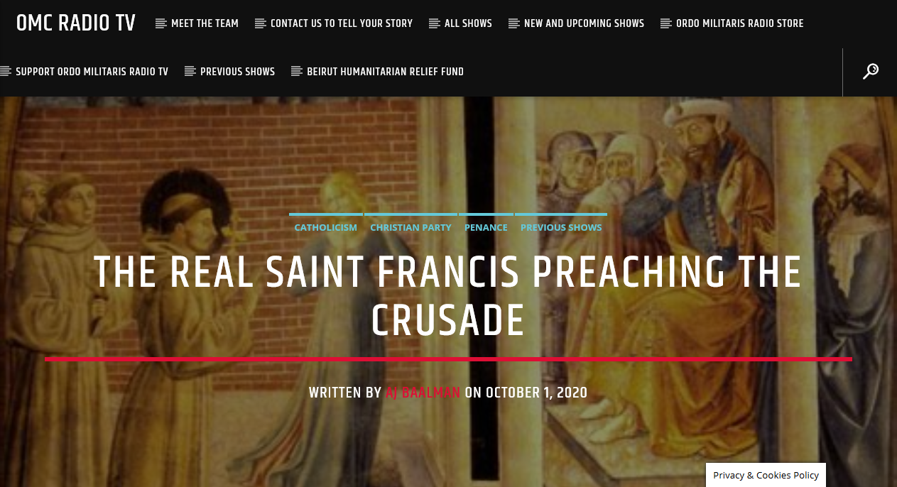 Who was the real St. Francis of Assisi?