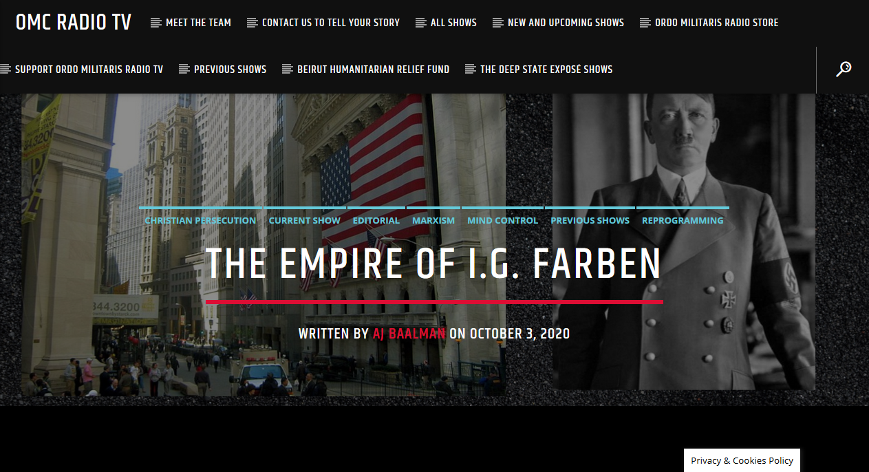 How New York Bankers intentionally armed Nazi Germany for world war