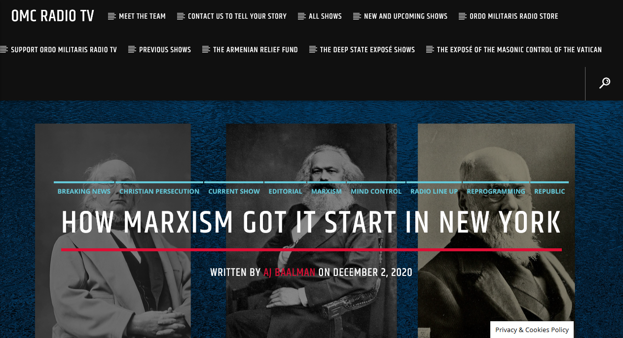 How Marxism got its start in New York City