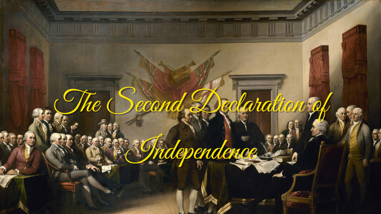 The Declaration of Independence from the Swamp