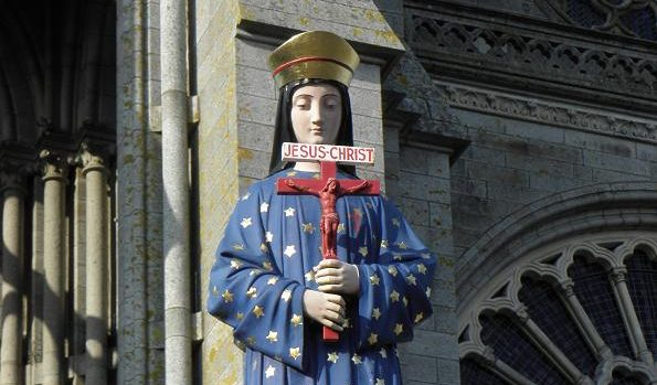 Today is the 150th Anniversary of Our Lady's apparition at Pontmain