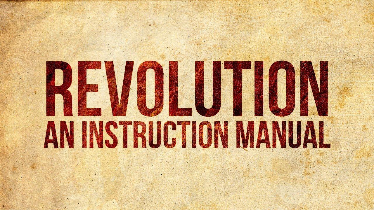 Wie man eine Revolution beginnt