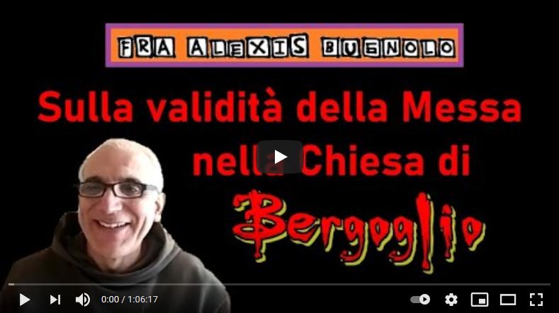 Marco Cosmo intervista Frà Bugnolo sulla Validità della Messa