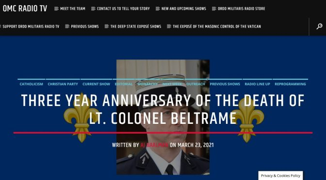 Col. Arnaud Beltrame and Officer Eric Talley: united in glory!
