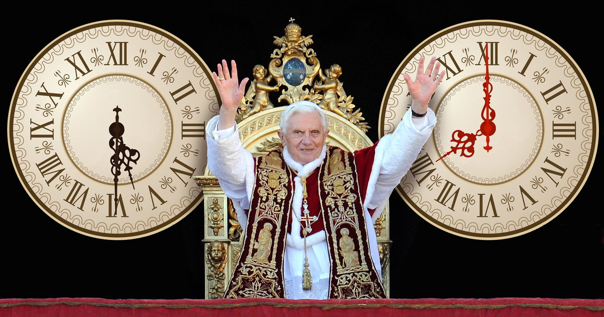 Pope Benedict XVI, Time Lord