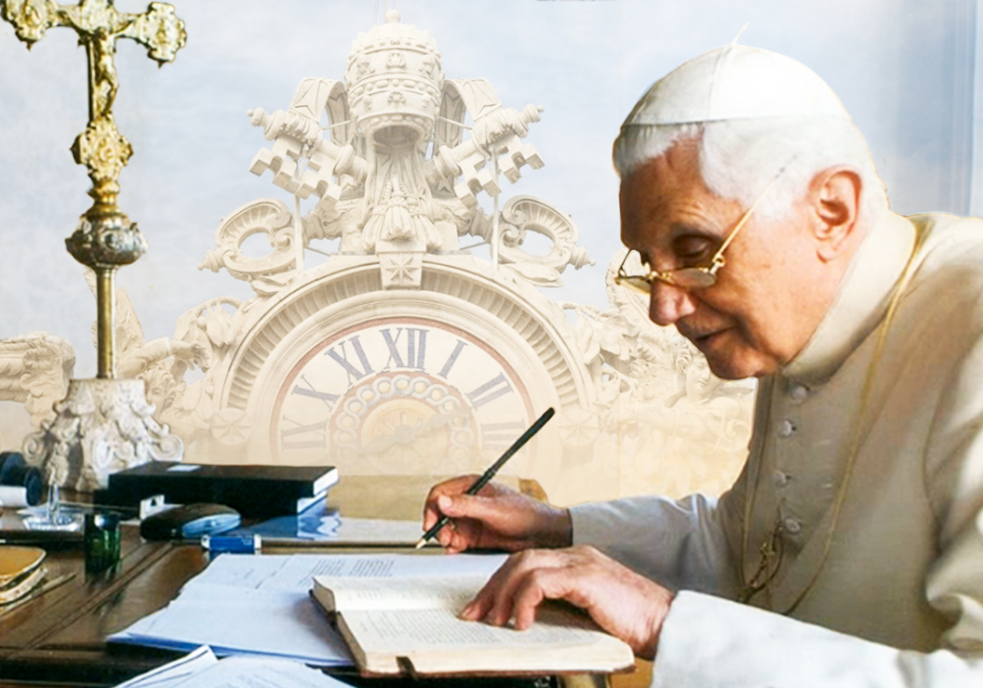 "Il Libero: ""A Book has put Ratzinger back on the Throne"""