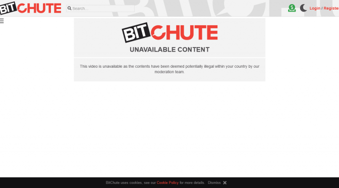 Time to dump Bitchute, as they begin to block videos to entire nations