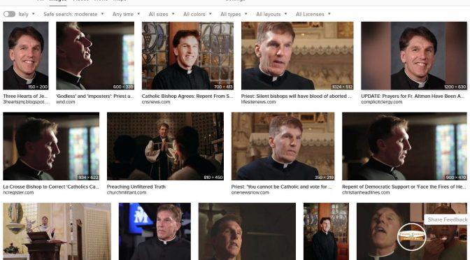 Fr. Altman: Don't be a guinea pig!