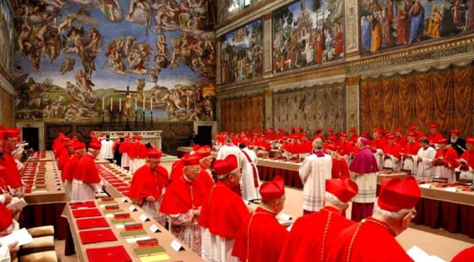 The Road which the Cardinals avoid at the peril of the salvation of the world