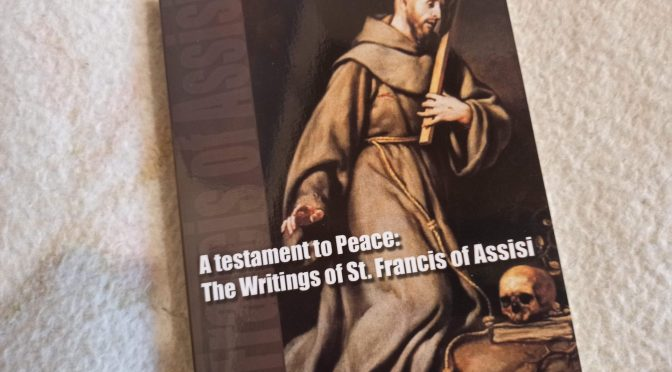 The Admonitions of St. Francis of Assisi