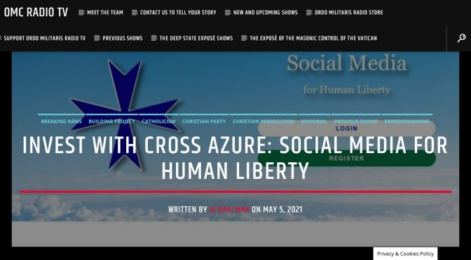 A New Opportunity for Human liberty – CrossAzure.Net